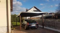 Wiaty samochodowe-Carport